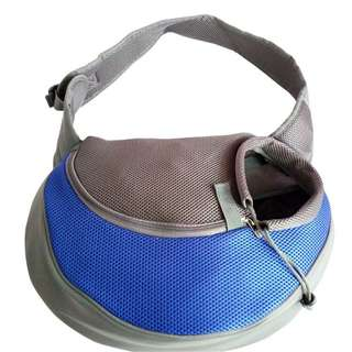 Pet Bag Shoulder Bag (Blue)