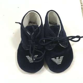 Armani Baby Shoes 3-6mos