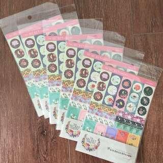 Secret Garden Deco Stickers