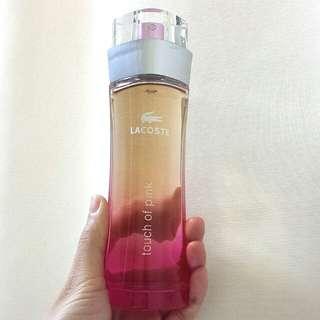 Lacoste Touch of Pink Eau de Toilette pour femme 90ml