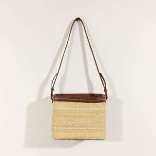Zara Straw Basket Bag