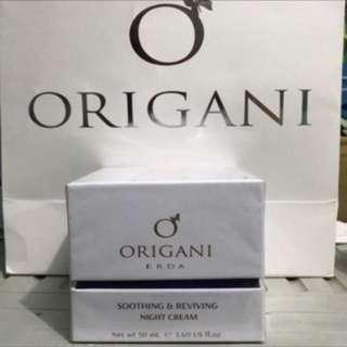 ORIGANI Erda Soothibg and Reviving Night Cream