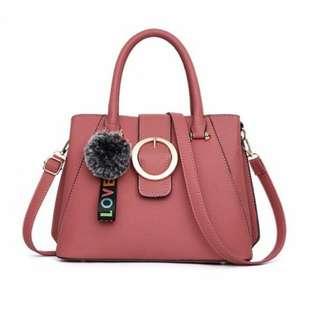 Handbag Dusty Pink