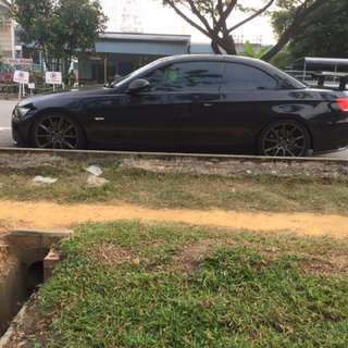 Cf gts wing 335i BMW