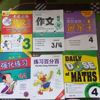 P4 Assessment Books