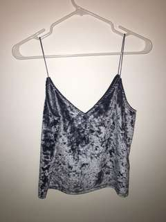Cropped tank too