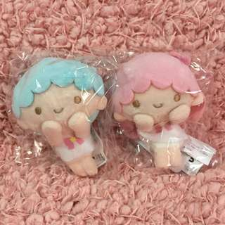 Little Twin Stars Lala Kiki Pyoconoru Plush Mascot