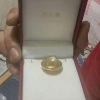 康寶萊 紀念金牌 周大福