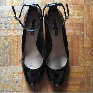 USED Charles and Keith Mary Janes