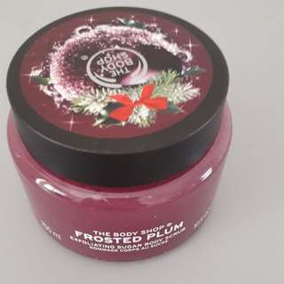 FROSTED PLUM EXFOLIATING SUGAR BODY SCRUB