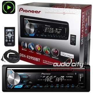 Pioneer DEH-X3950BT Car Stereo. BNIB.
