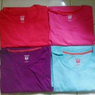 [SALE, 125rb GET 4pcs] Long Sleeve Polos Super T-Shirt MATAHARI