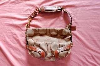 Coach Mini Tan Shoulder Bag