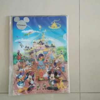 Disney Folders - 5pc in set