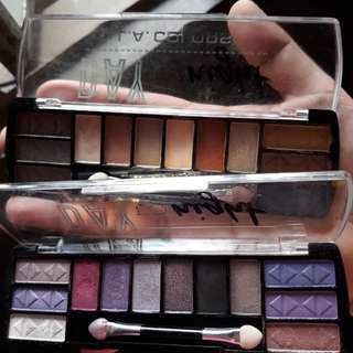 L.A Colors Eyeshadow bundle