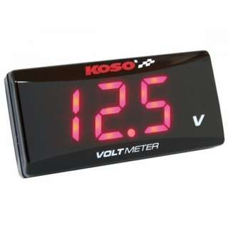 KOSO Voltmeter - Red / Blue Color