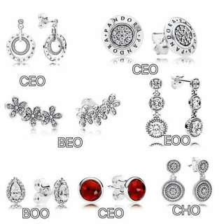 Pandora Earrings (Authentic)