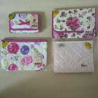 NaRaYa Cosmetic Bag w mirror / Pouch (4 nos)