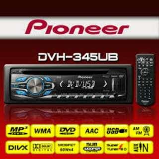 Pioneer DVH-345UB DVD Car Stereo. BNIB.
