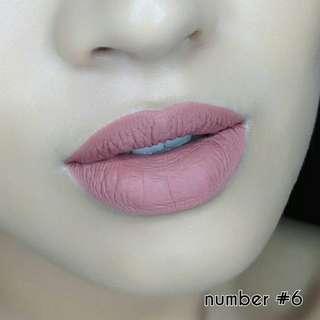 Everyday Love Nude Lipstick no. 6 #BESTSELLER