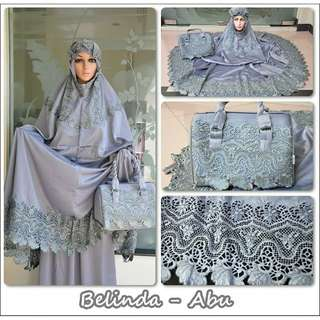 Mukena Exclusive Satin Belinda