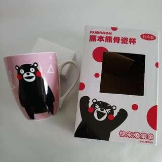 熊本熊骨瓷杯(KUMAMON VER)