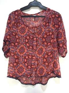 MUDD Hanging Blouse