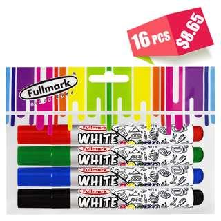 16pcs Dry Erase White Board Marker