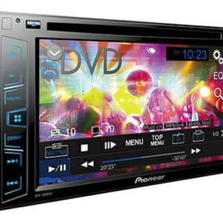 Pioneer AVH-185DVD Car Stereo with DVD and inbuilt screen. BNIB.