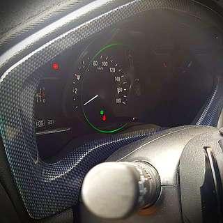 Honda Vezel Speedometer Panel (Carbon Fibre print)