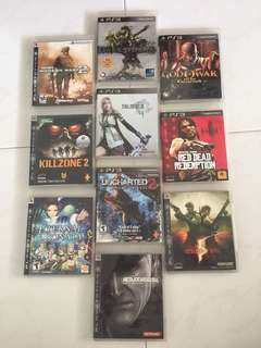 PS3 Games (Pre-owned)