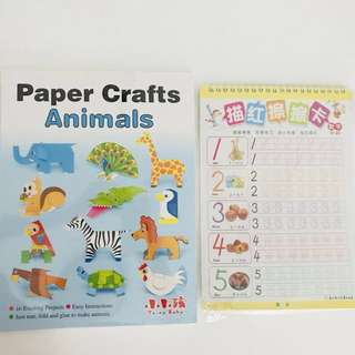 [2 for $5] Kids Craft & Number Writing