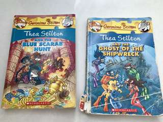 Thea Stilton - 2 books