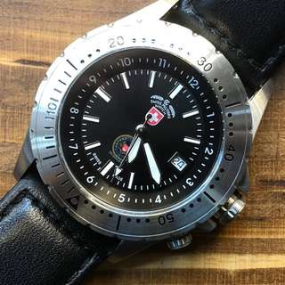 Swiss military SAF quartz watch