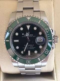 Buying Rolex HULK 116610LV