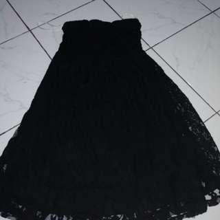 Dress tube/kemben brokat