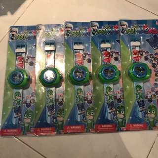 Transformer pj mask paw patrol cars pony watch