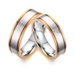 Customized Couple Rings
