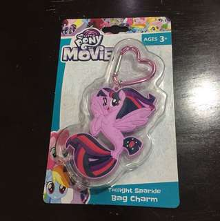 My little pony the movie bag charm (twilight sparkle)