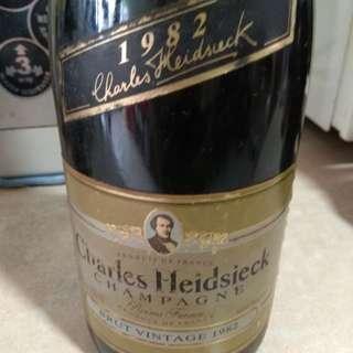 Charles Heidsieck Champagne 1982