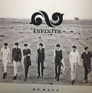 Infinite Be Back L小卡