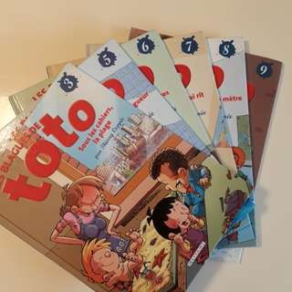 Toto (french) - Collection of 6 comic books