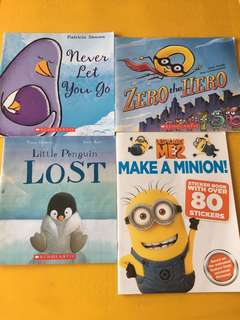 Assortment of Scholastic Children Books