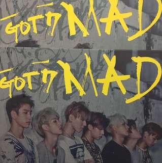 GOT7 MAD 專輯