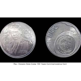 Rev Horacio Dela Costa Commemorative Coin