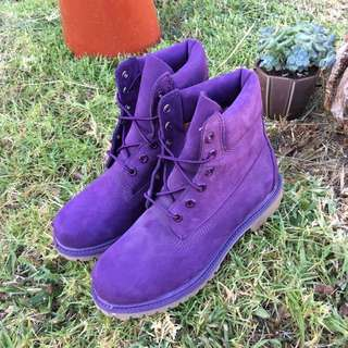 Timberlands Purple Shoes 9