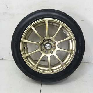 16 '' Sport Rim With Tyre 4x100 4x114.3 (SR946)
