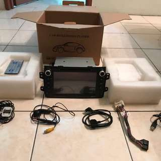 Suzuki SX4 OEM DVD, GPS, Bluetooth, iPod, USB & Back Camera Player with Remote and Full Box Set. Conditions like new set
