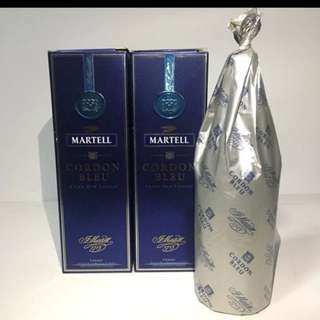 Martell cordon bleu 2 bottles
