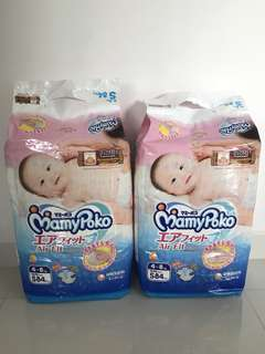 Mamypoko Airfit Tape Diapers (S Size)
